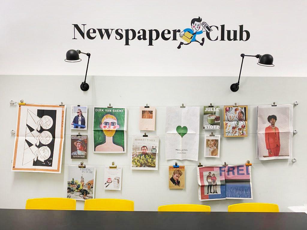 Newspaper Club office