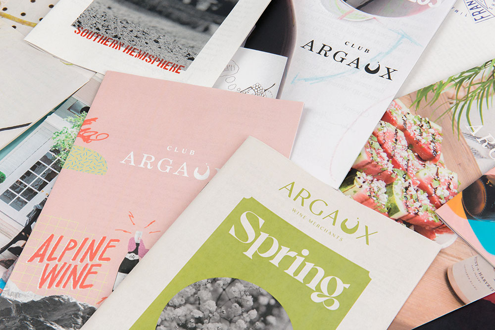 How Argaux makes wine catalogues their customers want to collect