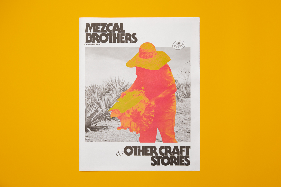 Mezcal brothers catalogue newspaper