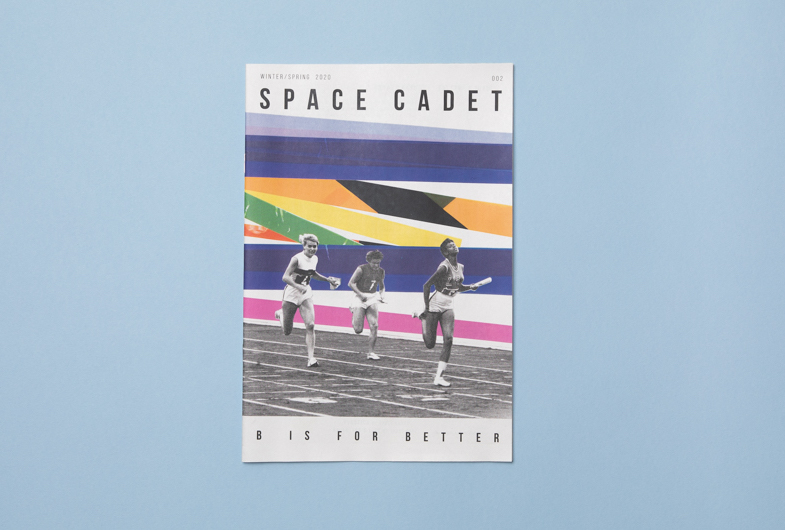 Illustrated zine Space Cadet, published by ROBIN SCHEINES & NATALIA OLBINSKI. Printed by Newspaper Club.