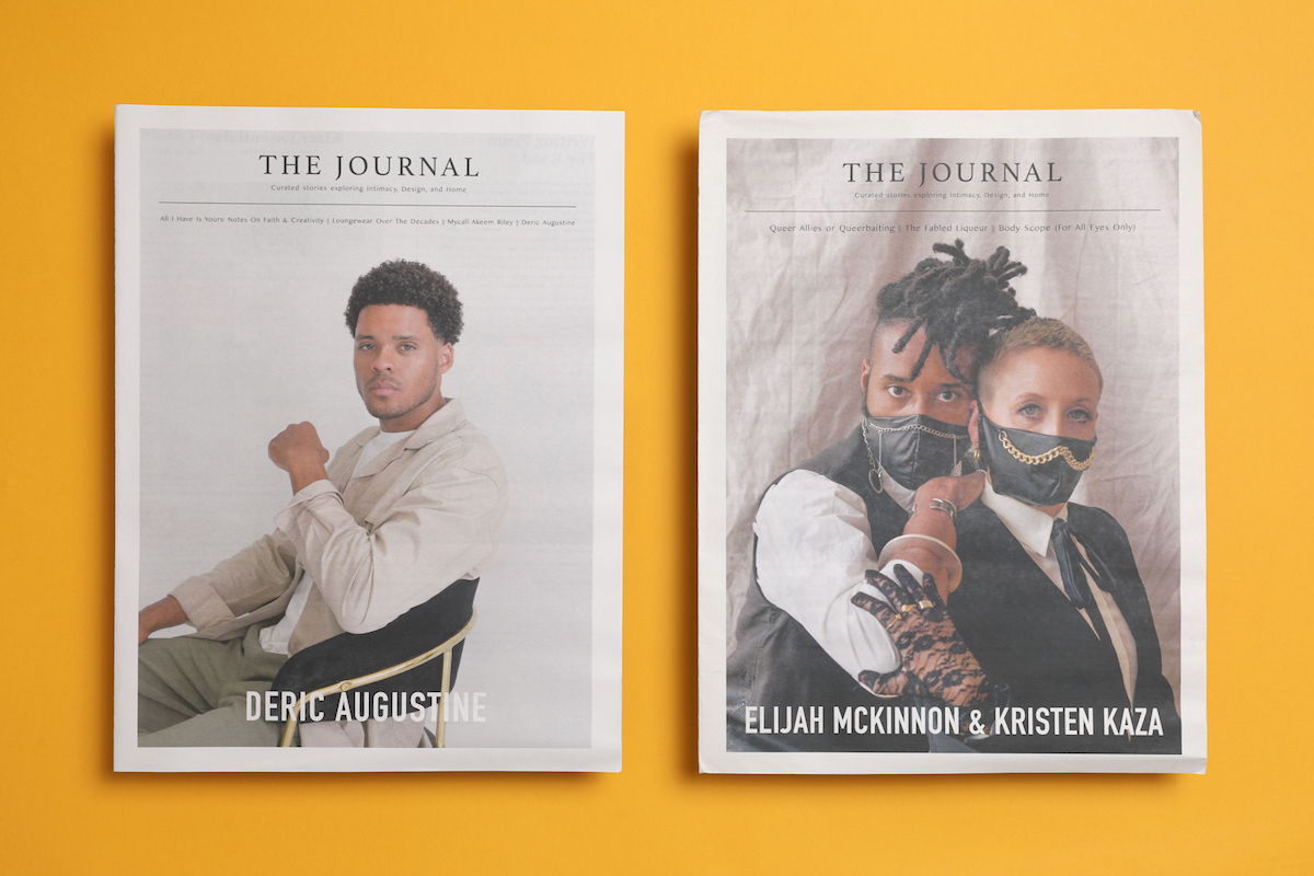 The Journal from Felton Kizer is an exploration of design, intimacy and home as seen through the relationships people have with objects. Printed by Newspaper Club.