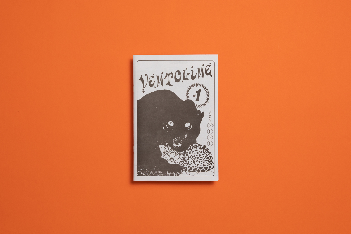 Ventoline music zine by Félicité Landrivon. Printed by Newspaper Club.