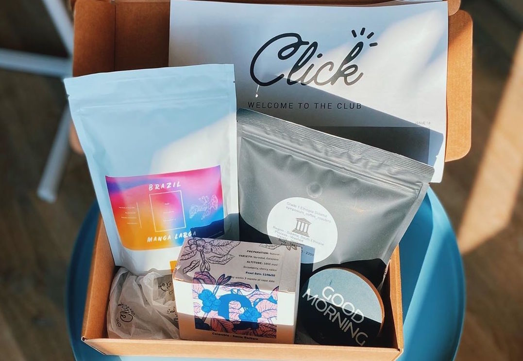 Click Coffee unboxing