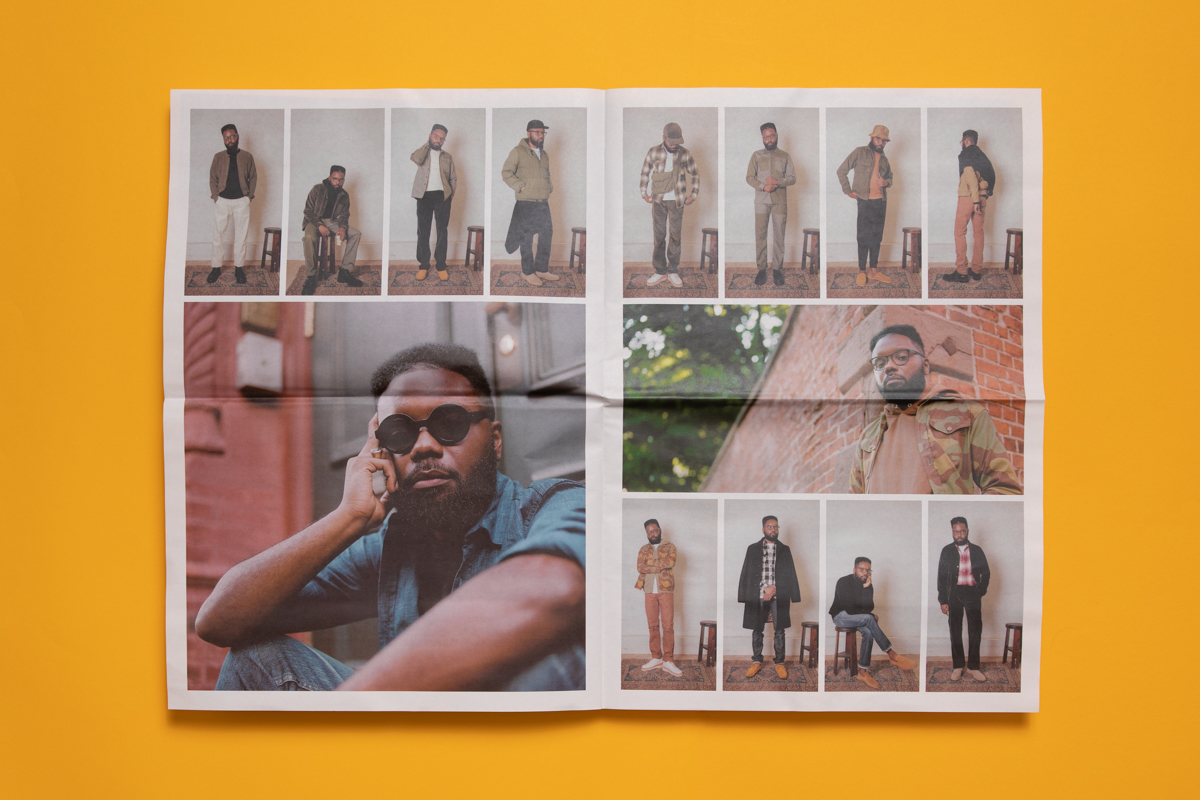 Catalogue for 3Sixteen printed by Newspaper Club