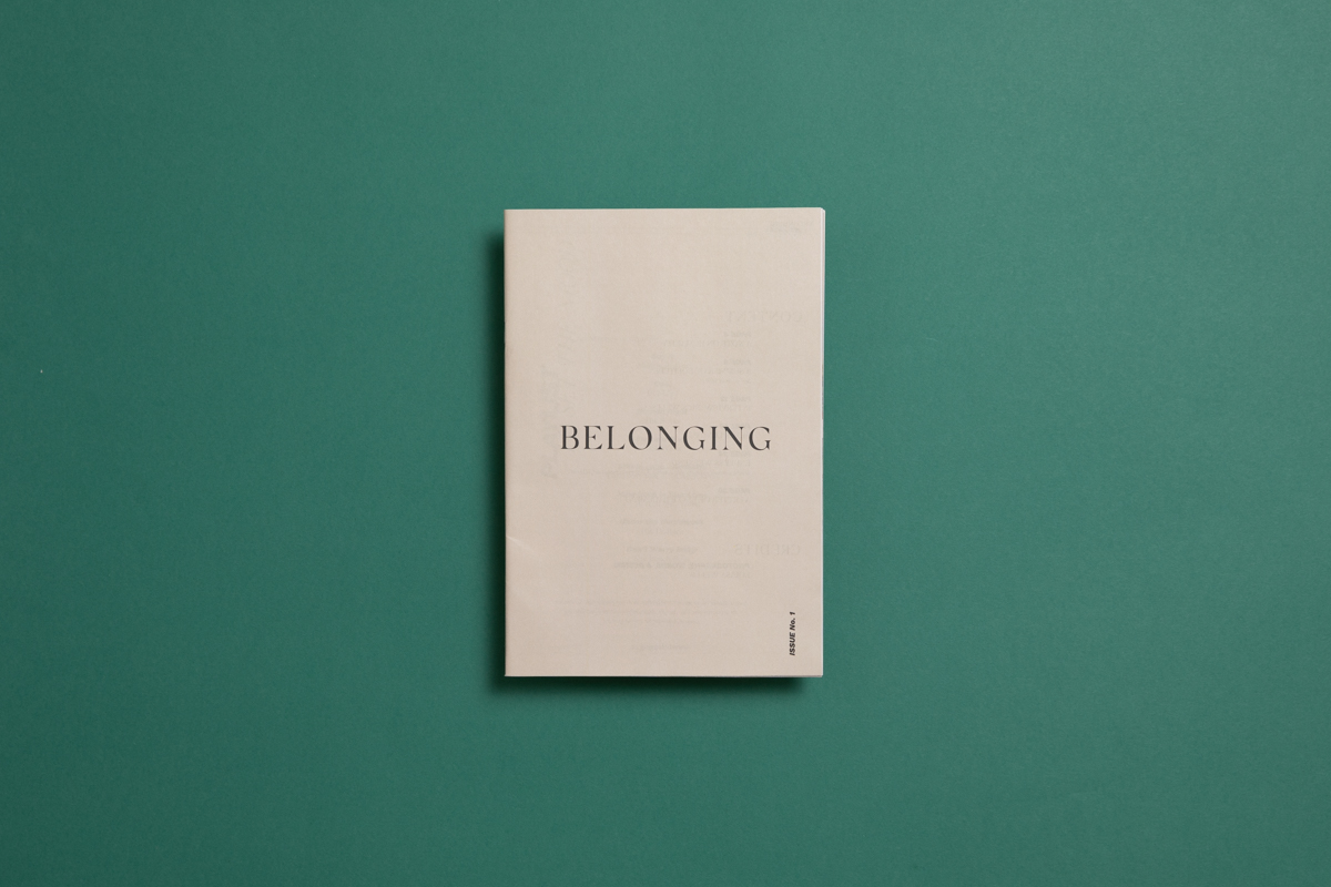 Belonging, a newspaper of photography and writing by Louisa Wells. Printed by Newspaper Club.