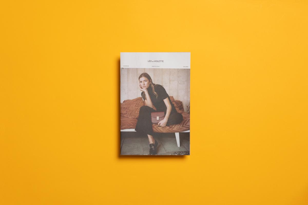 Leo et Violette lookbook printed by Newspaper Club