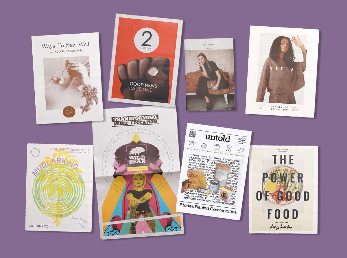 Newspaper Club Print Roundup — Inspiring Newspapers from November 2020