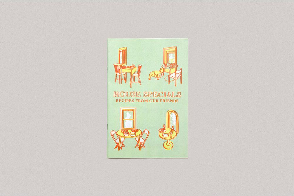 House Specials illustrated lockdown quarantine cooking zine