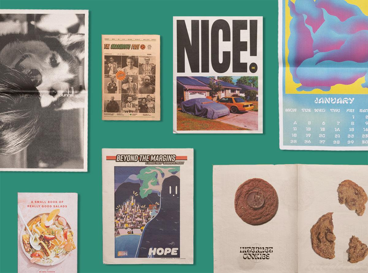 Newspaper Club print roundup — 7 creative newspapers we loved in January 2021