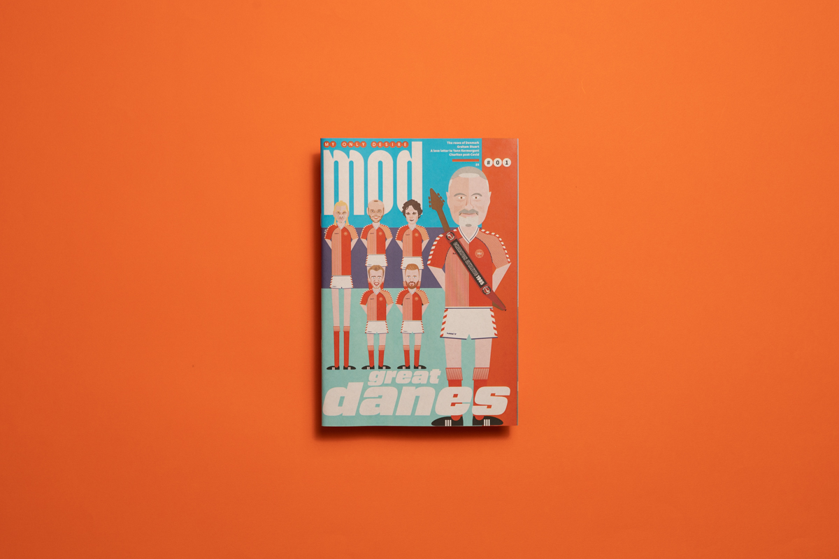 My Only Desire (MOD) football zine, celebrating Charlton FC. Printed by Newspaper Club.