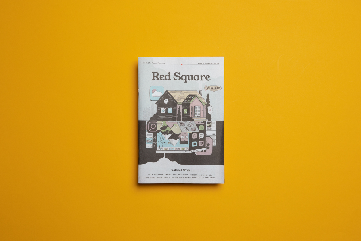 Red Square Agency portfolio. Printed by Newspaper Club.
