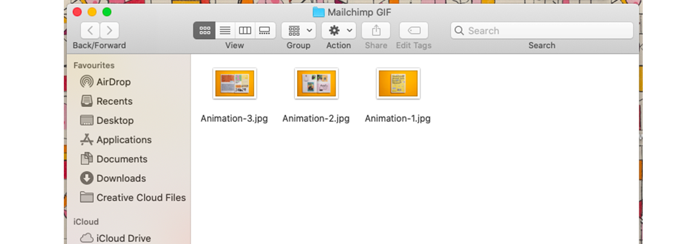 How to make an animated GIF flipping through your publication