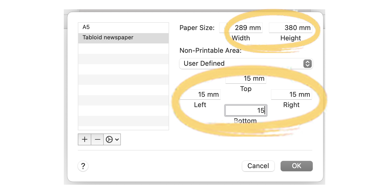Step-by-step guide to setting up a newspaper template in Word for Mac