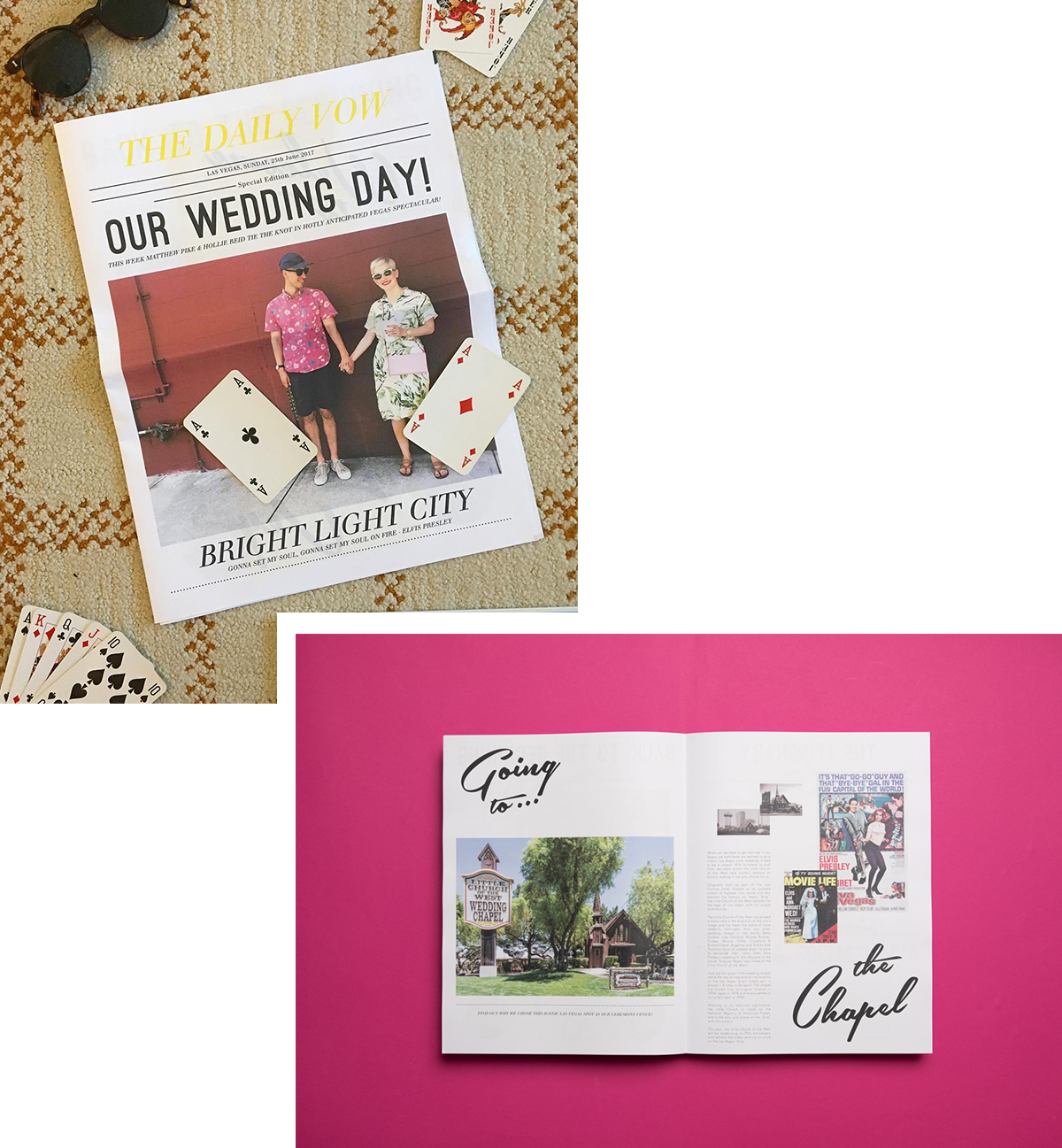 8 unforgettable wedding newspapers and how to make your own by Newspaper Club