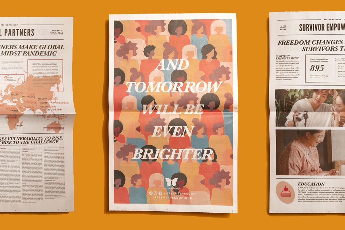 rescue freedom newspaper cover