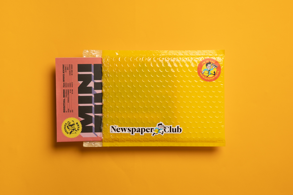 The complete guide to packaging your newspaper - bubble mailers