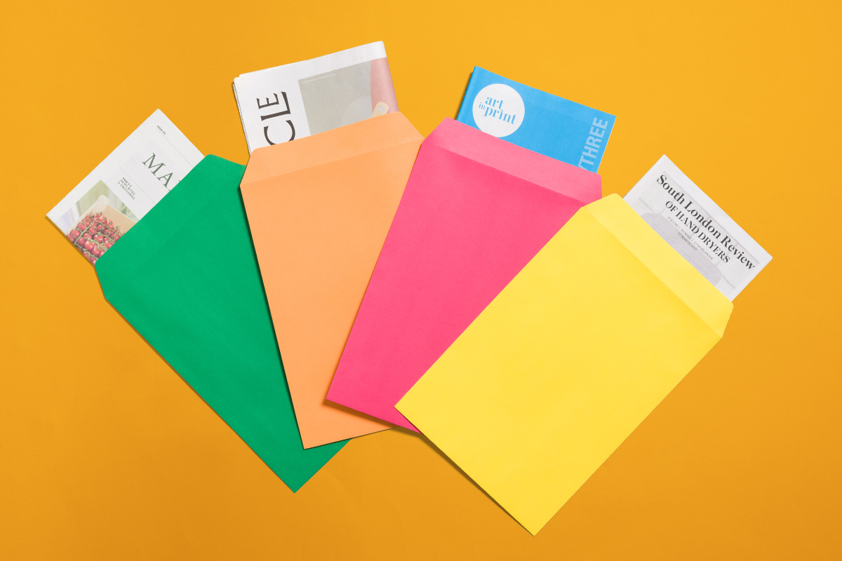 The complete guide to packaging your newspaper — Envelopes