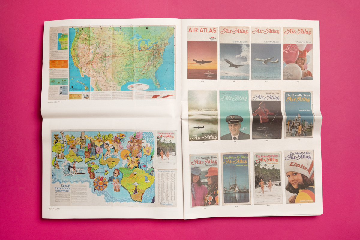 8 print projects to inspire you in September 2021: Direction of Travel published by Christian Noelle. Printed by Newspaper Club.