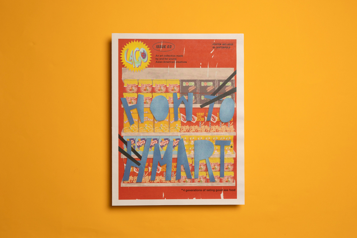 8 print projects to inspire you in September 2021: How to H Mart by LAGO Collective. Printed by Newspaper Club.