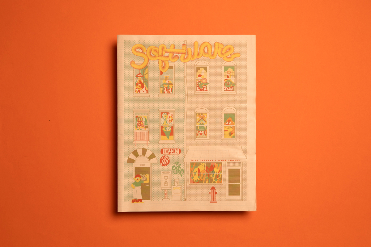 8 print projects to inspire you in September 2021: Software zine printed by Newspaper Club.